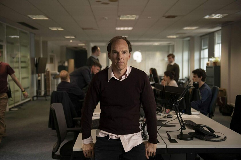 """Benedict Cumberbatch plays Dominic Cummings, the architect of the successful Leave campaign, in """"Brexit."""""""