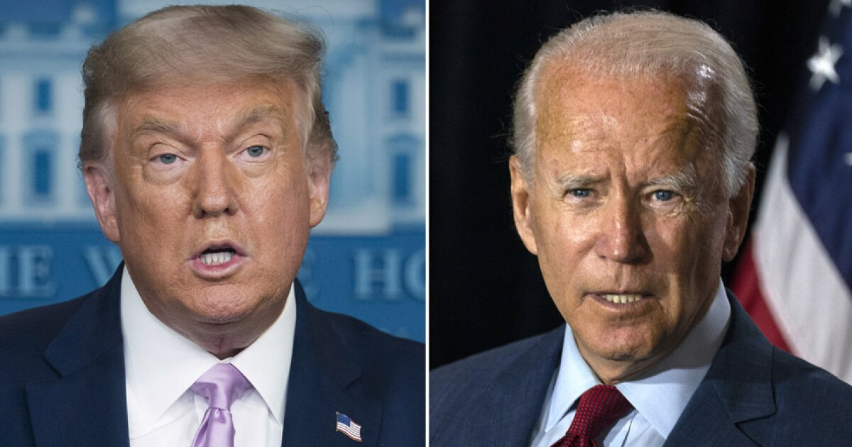 Trump And Biden Spar In Quieter But Still Volatile Final Debate Los Angeles Times