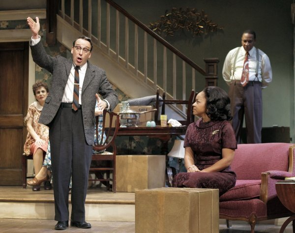 """Bruce Norris constructed a provocative history of the house that the African American Younger family is heading to at the end of Lorraine Hansberry's """"A Raisin in the Sun."""" An impeccable ensemble, under the direction of Pam MacKinnon, helped this Pulitzer Prize-winning drama capture the Tony Award for best play after the production went on to Broadway."""