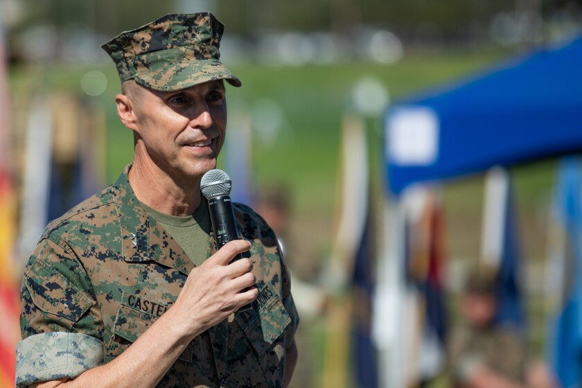 U.S. Marine Corps Maj. Gen. Robert F. Castellvi