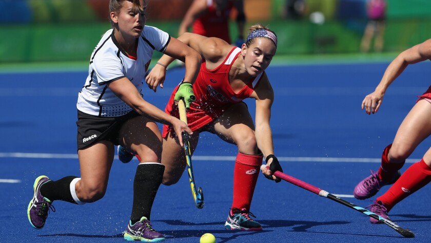 Would Kent State have stopped this Olympic women's field hockey match for fireworks?