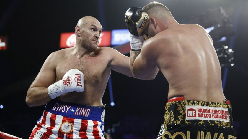 Could Tyson Fury be the next dominant force in heavyweight boxing
