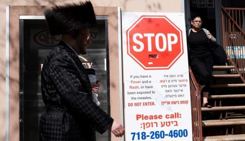 Nueva York anuncia fin del brote de sarampión que llevó a emergencia pública