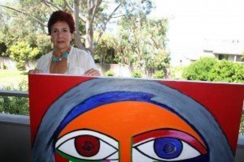 Alix Gonzalez Dumka and her artwork