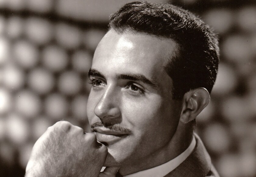 Ricardo Montalban pictured in a 1950 MGM photo.