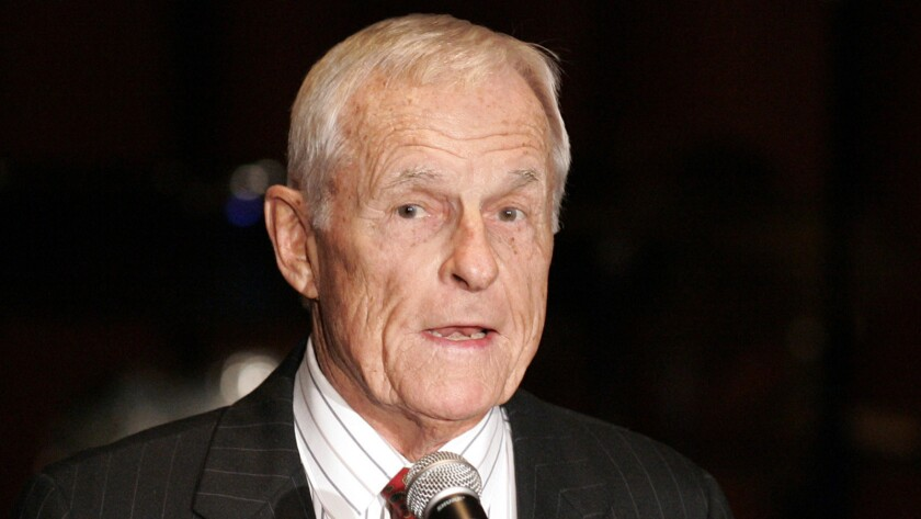 Grant Tinker, MTM Enterprises cofounder and a former NBC chairman, in 2006.