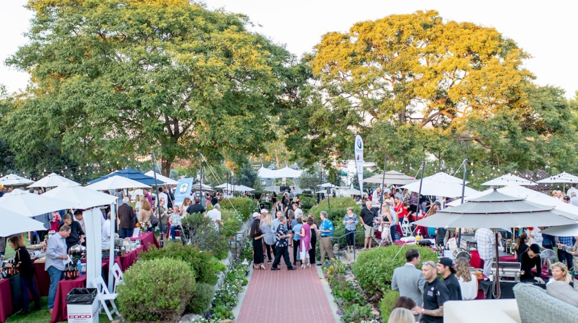Last year's Taste of RSF on the grounds of The Inn at Rancho Santa Fe was sold out with over 700 attendees.