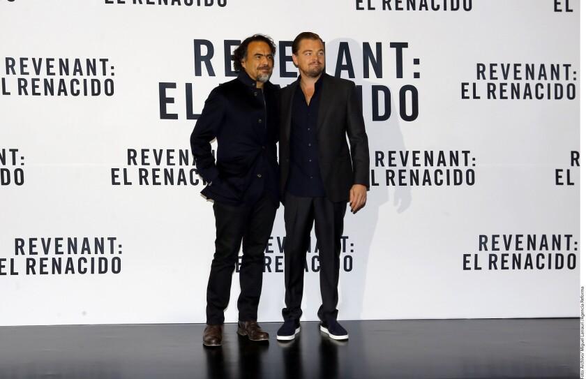 La ceremonia de premiación, considerada el Oscar británico, se realizó este domingo en Royal Opera House en Londres y en ella la cinta del mexicano sumó cinco premios, pues Leonardo DiCaprio también triunfó en la cateogría de Mejor Actor.
