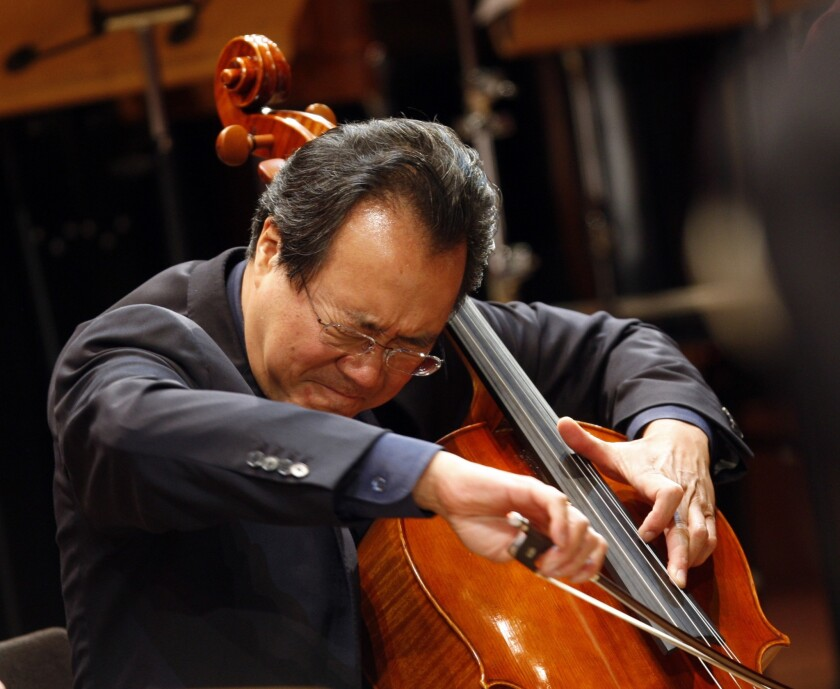 Cellist Yo-Yo Ma will perform Bach's complete cello suites to honor people who have died from the pandemic.
