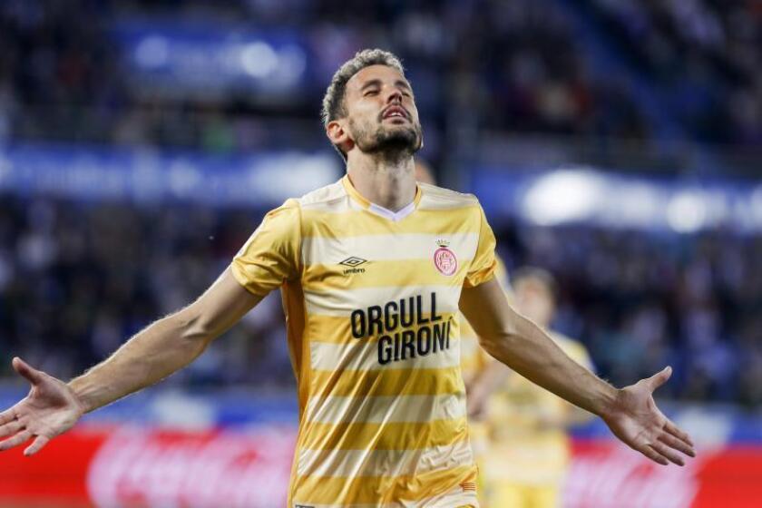 La AUF anuncia la baja de Stuani por el juicio de amaño del partido Levante-Zaragoza