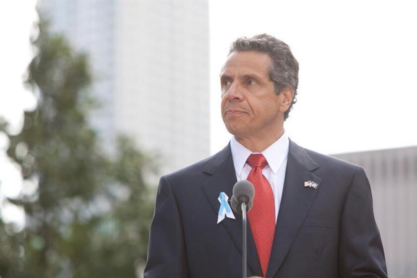 New York governor Andrew M. Cuomo. EFE/EPA/POOL