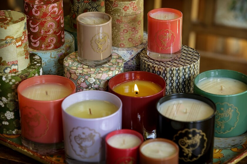 Scented candles by Machado