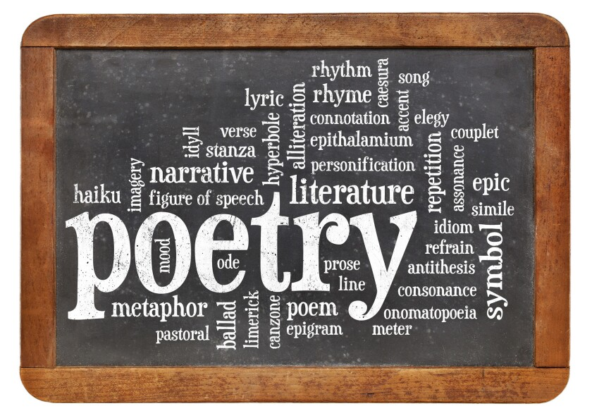 Poetry in the time of the pandemic.