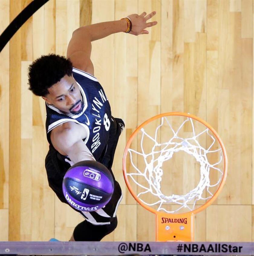 134-132. Dinwiddie y los Nets sorprenden a los Hornets
