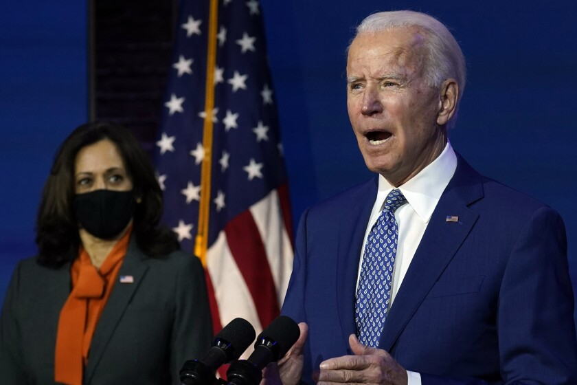 Op Ed How Biden Can Restore The Public S Faith In Facts Los Angeles Times