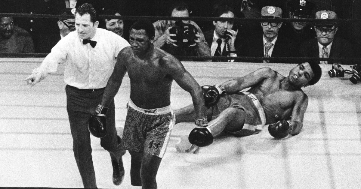 Commentary: Looking back at Ali vs. Frazier: 50 years since 'The Fight of the Century'