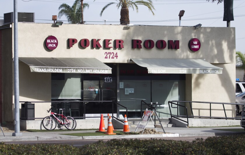 The Palomar Card Club on El Cajon Boulevard in San Diego closed under an agreement with state gaming regulators.