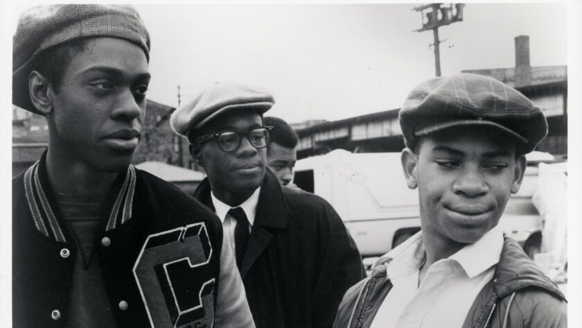 (L-R)- Cochis (Lawrence-Hilton Jacobs), Preach (Glynn Turman) and Pooter (Corin Rogers) spark the ac