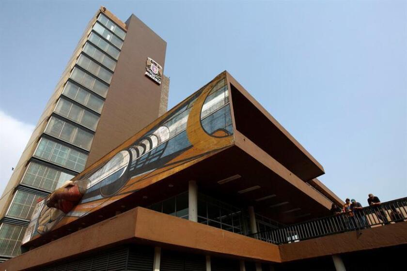 Imagen tomada de la rectoría de la de la Universidad Nacional Autónoma de México (UNAM). EFE/Archivo