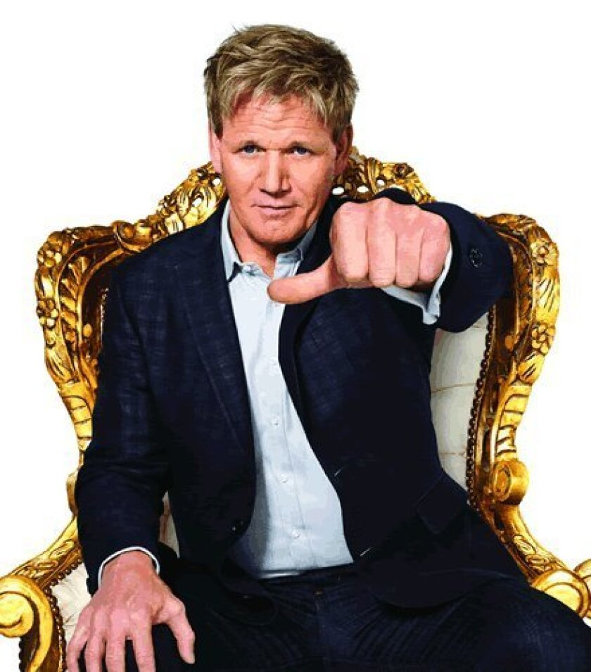 Celebrity chef and MasterChef judge Gordon Ramsay