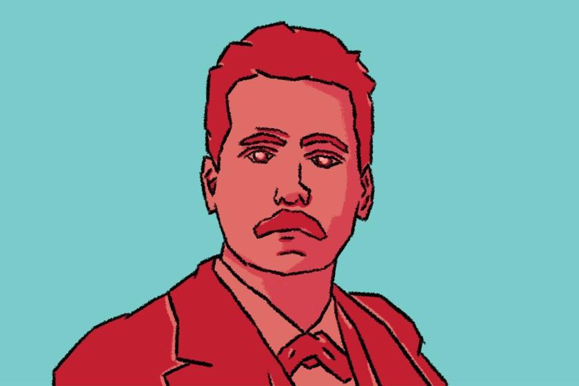 Illustration of Giacomo Puccini