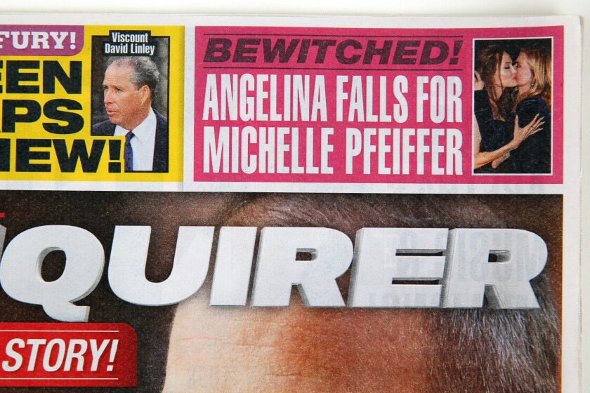 Angelina Falls for Michelle Pfeiffer