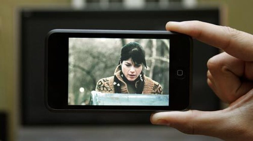 'Purple Violets' starring Selma Blair is the first feature-length film released directly to iTunes.