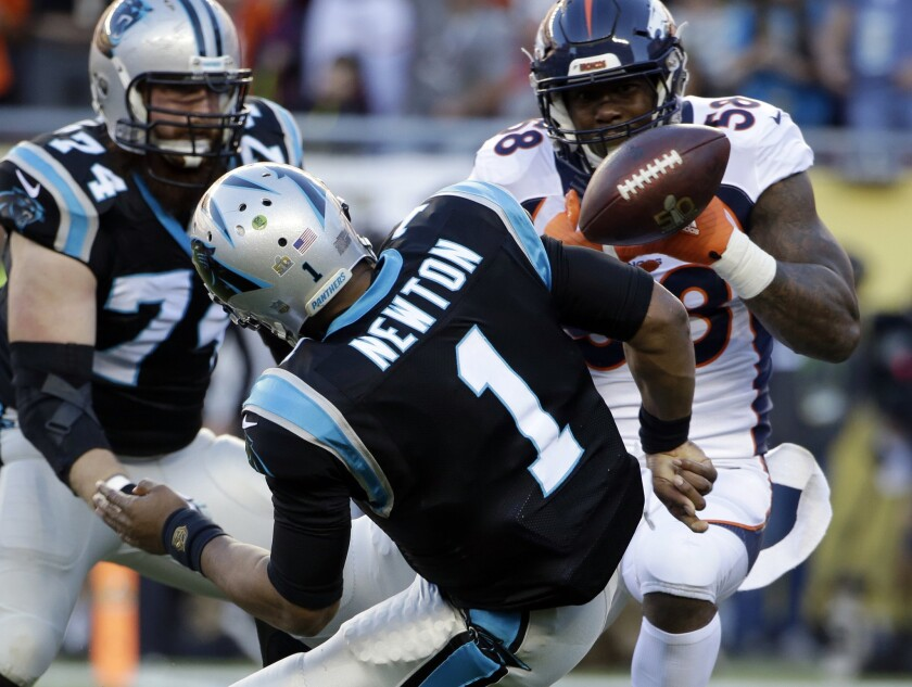 Broncos' Von Miller makes up for missed chance, is Super Bowl MVP