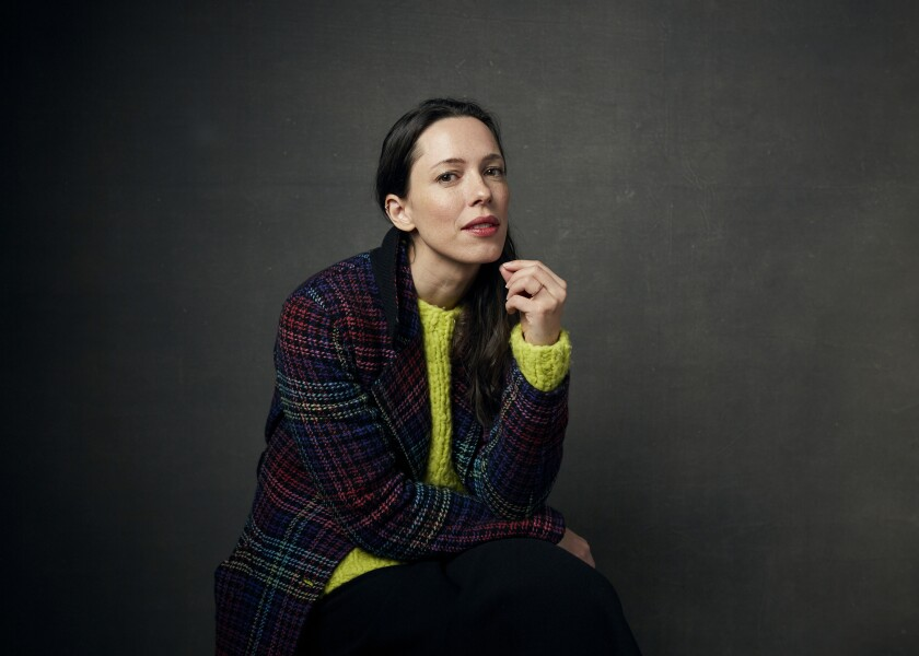 """FILE - Rebecca Hall appears at a portrait session during the Sundance Film Festival in Park City, Utah on Jan. 24, 2020. Hall directed her first film, """"Passing,"""" starring Ruth Negga and Tessa Thompson, which premiered this weekend at the Sundance Film Festival to wide acclaim. (Photo by Taylor Jewell/Invision/AP, File)"""