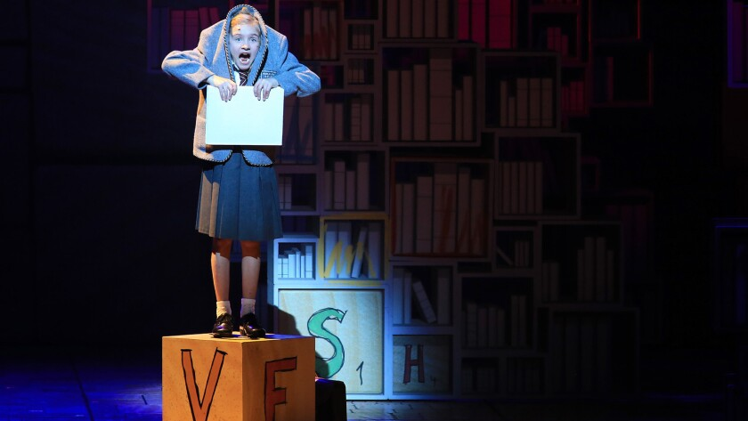 A love of reading makes all the difference for Matilda, adorably played by Mabel Tyler, one of three actors who alternate the title role.
