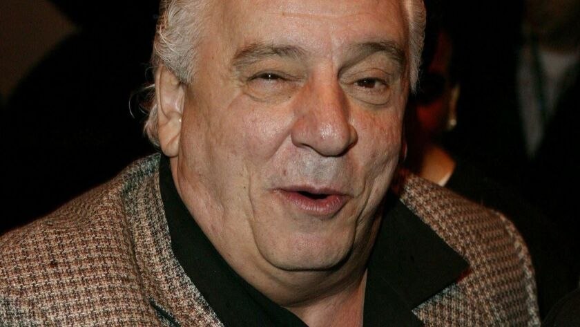"Vinny Vella arrives at the screening of ""Coffee and Cigarettes"" at the 2004 Tribeca Film Festival."