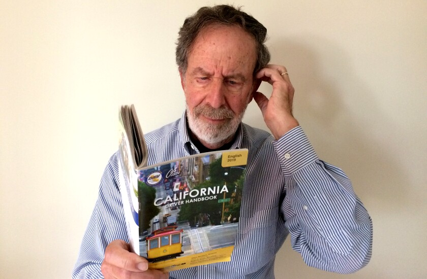 Milt Hess, who teaches adult literacy at the Santa Barbara Public Library, delved into the California DMV's driver handbook. Much of it, he found, is written at a level requiring an advanced degree.