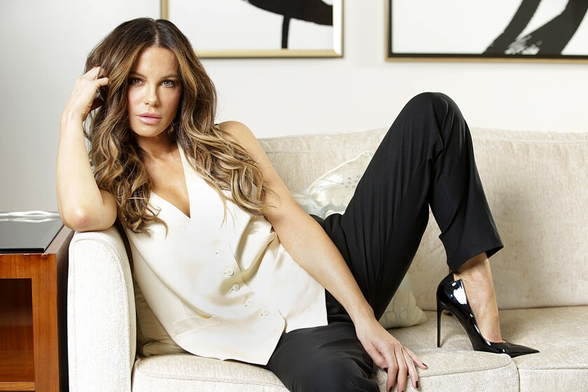 BEVERLY HILLS, CA., MARCH 15, 2019 --Kate Beckinsale, who has a wide-ranging career ranging from va