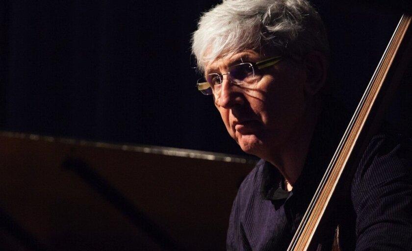 Acclaimed jazz bass player Mark Dresser has been a professor at UCSD since 2004.