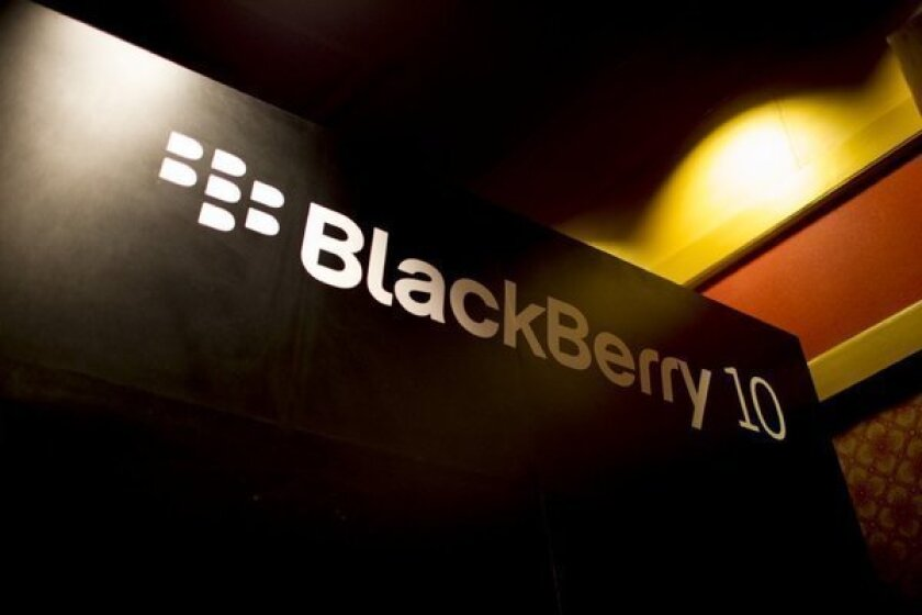 Chief Executive Thorsten Heins said his company, the newly renamed BlackBerry, would consider licensing BlackBerry 10, its new mobile operating system.