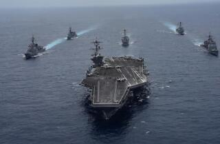 Navy struggles with shortage of aircraft carriers