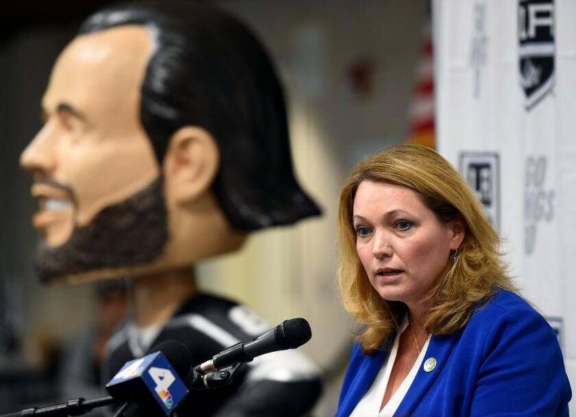 LA Kings and Sandy Hook Promise