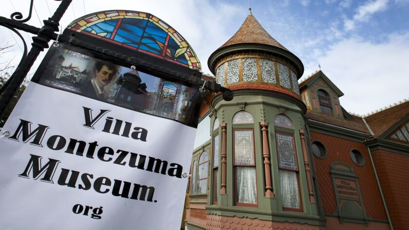 The Villa Montezuma museum house in Sherman Heights is number 11 on the list of historical landmarks in San Diego. After being closed for nine-years, and an $882,500 preservation project, the histor