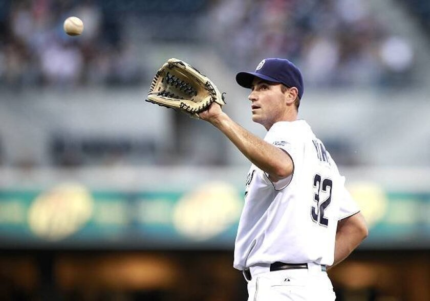 Chris Young, coming back from season-ending shoulder surgery, will take to the Petco Park mound Friday as part of his rehabilitation program.