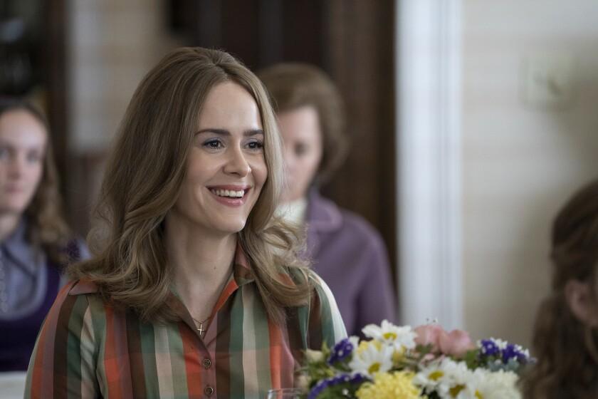 "Sarah Paulson as Alice in ""Mrs. America"""