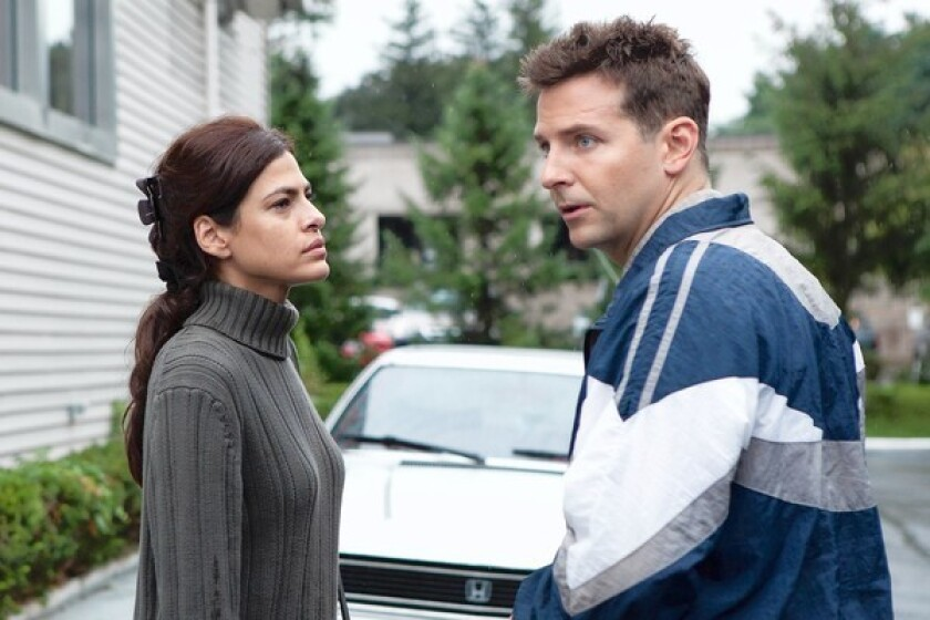 """Eva Mendes and Bradley Cooper star in """"The Place Beyond the Pines."""""""