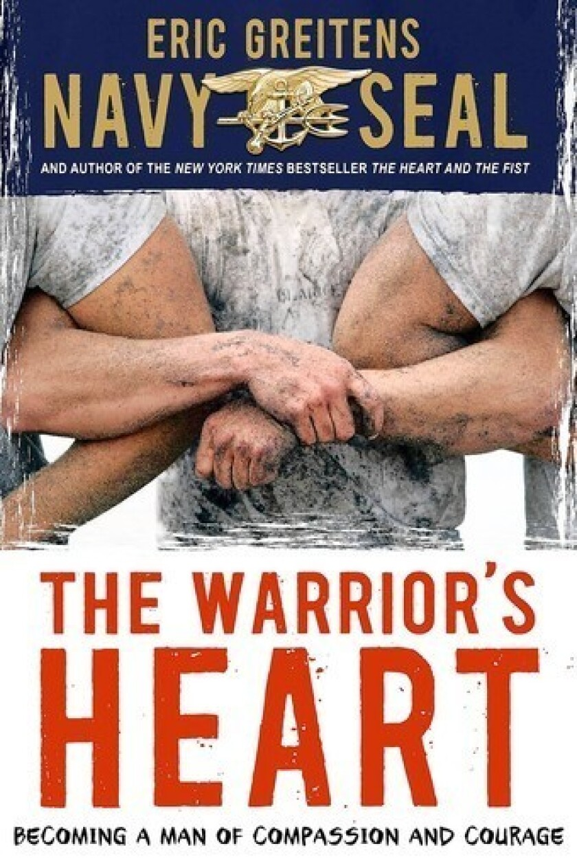 The cover of 'The Warrior's Heart' by Eric Greitens.