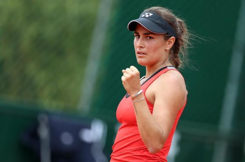 La tenista puertorriqueña Mónica Puig elige al belga Dehaes como su nuevo entrenador