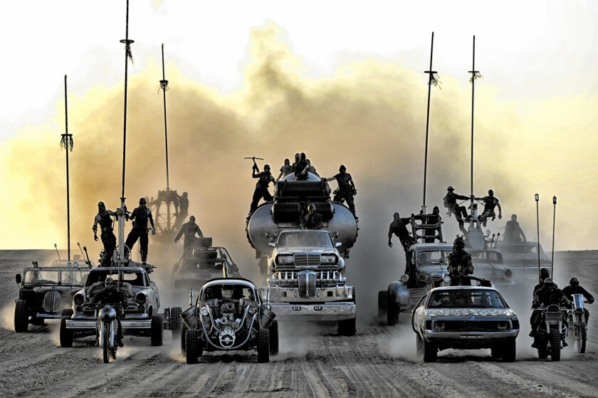 'Mad Max: Fury Road' an apocalyptic tale as old as man's existence