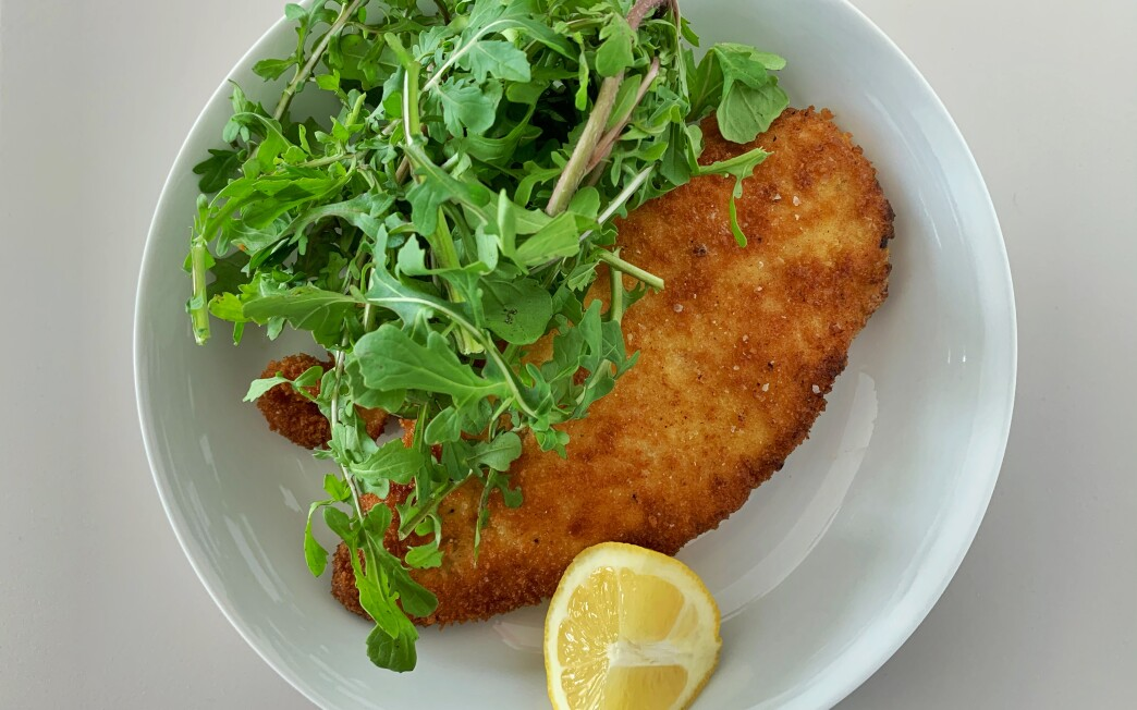Shallow-fried in butter, chicken cutlets here are crisp and bright thanks to a lemony breadcrumb coating.