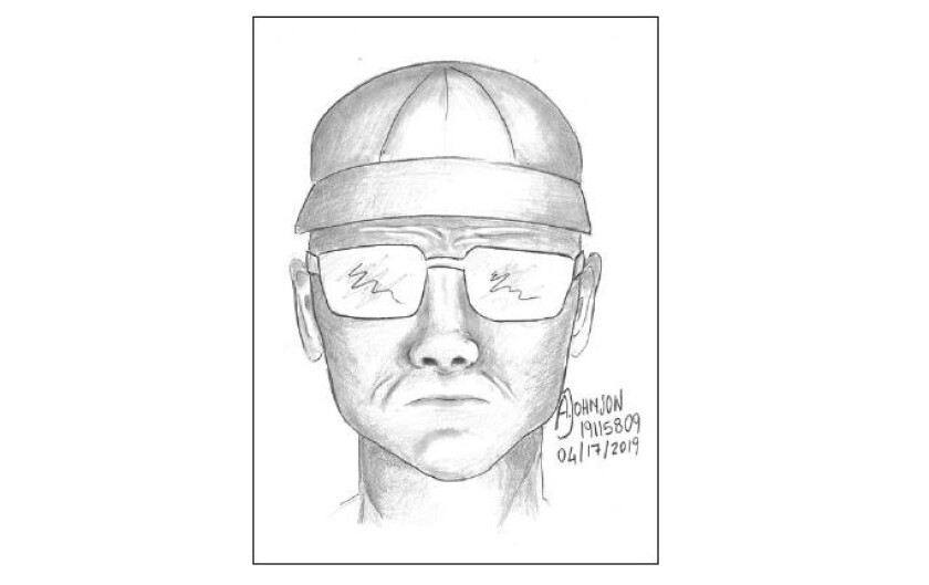 Sketch of man suspected of trying to lure girl