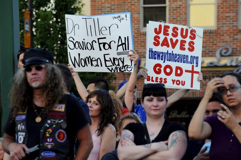 Abortion vigil in Kansas
