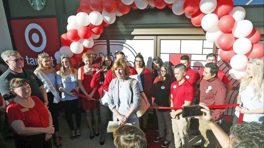 La Canada Flintridge Mayor Terry Walker takes a moment to talk about Target coming to La Canada Flin