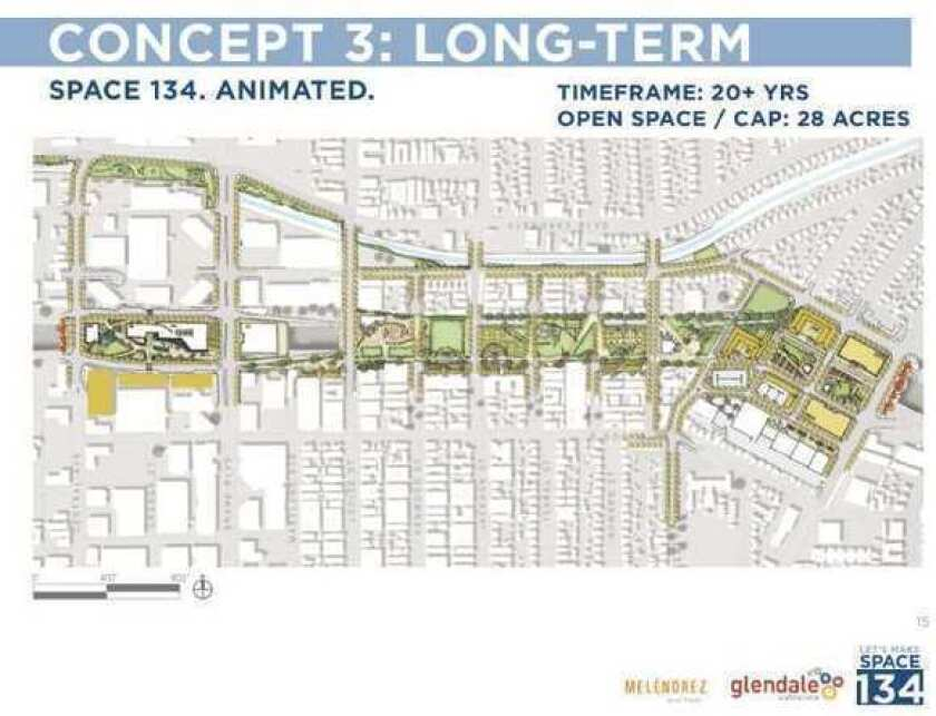 Building a park over 134 Freeway? Glendale supports proposal