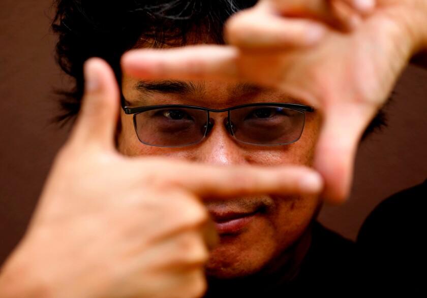 "South Korean master director Bong Joon-Ho of ""Parasite."""